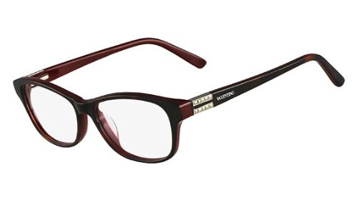VALENTINO Eyeglasses V2624 231 Havana/Bordeaux - Glasses Valentino Eye