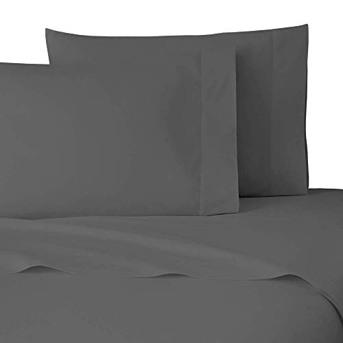 NIM Textile Luxury 1600 TC Softness Deep Pocket 4pc Bed Sheet Sets Milano Collection - Dark Gray, Full