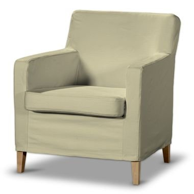 Sylt Cover For Ikea Karlstad Armchair Small Cream In Munich Amazon