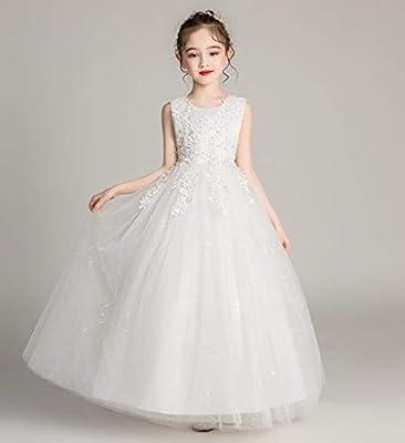 Flower Girl Wedding Dress Kids Formal Long Pageant Princess Party