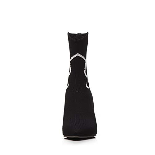 36 Abm13377 Noir Eu Noir Compensées Femme Sandales 5 Balamasa 1TzCqz