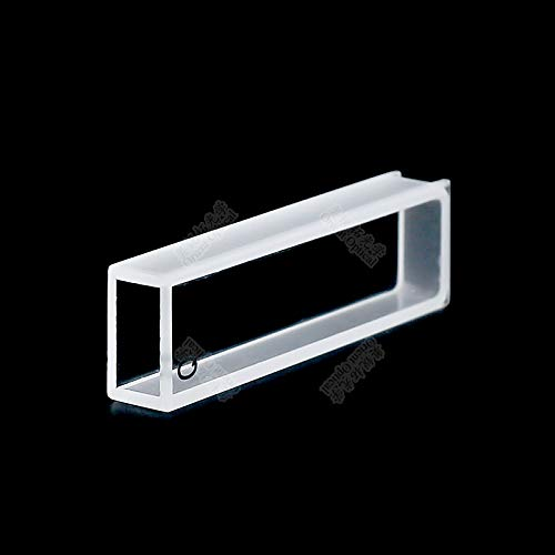 Laliva 5mm quartz standard cuvette (transparent on both sides) - (Color: 2 pro acid resist)