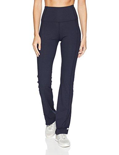 Control Bootcut Legging - Marika Women's Sophia High Rise Tummy Control Pant, Midnight Blue, X-Large