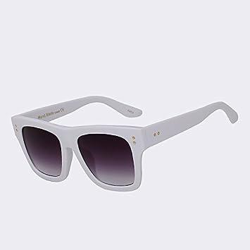 Grande Mujer Gafas De Bastidor Cuadrado Sol Para Tianliang04 8nm0wN