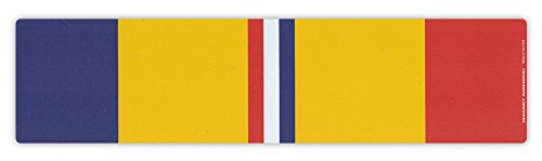 Action Magnet - Magnetic Bumper Sticker - Combat Action Service Ribbon - Conflict Service Bar - 10