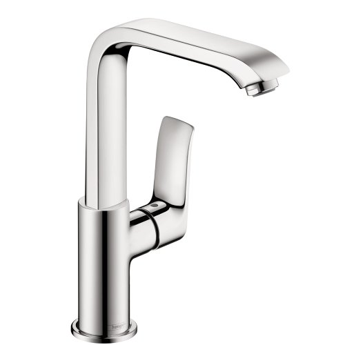 hansgrohe Metris  Modern 1-Handle  10-inch Tall Bathroom Sink Faucet in Chrome, ()