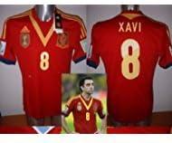 Adidas - Camiseta de Xavi de la selección española, 2013, Talla M: Amazon.es: Deportes y aire libre