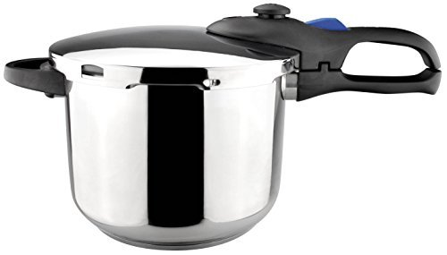 - Magefesa Favorit 6.4 Qt. Stainless Steel 6.4 Qt. Pressure Cooker