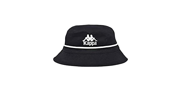 da4fcba4e6ca32 Kappa Mens Authentic Bucketo Unisex Vintage 90s Bucket Hat Black - One Size  at Amazon Men's Clothing store: