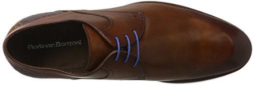 Floris van Bommel 14484/02, Zapatos de Cordones Derby para Hombre marrón