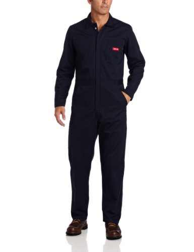 UPC 029311186234, Dickies Men's Big-Tall Flame Resistant Long Sleeve Coverall, Navy, 3X Regular