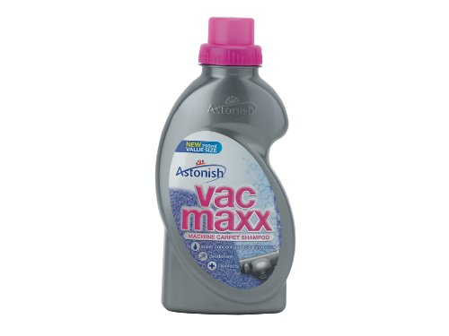 Astonish Vac Maxx Machine Carpet Shampoo 750