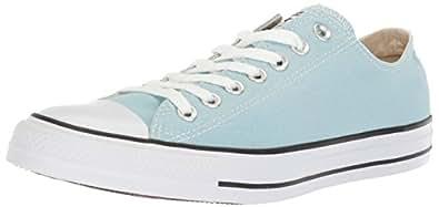 Converse Chuck Taylor All Star Seasonal Canvas Low Top Sneaker, Ocean Bliss, 4.5 M US