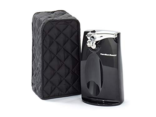 - CoverMates – Can Opener Cover – 5W x 5D x 10H – Diamond Collection – 2 YR Warranty – Year Around Protection - Black