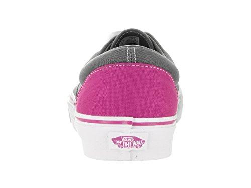 Men 8 Heel US Red Era Vans Unisex Skate Fuchsia 5 US 9 Shoe Pop Women Pewter vwRHq