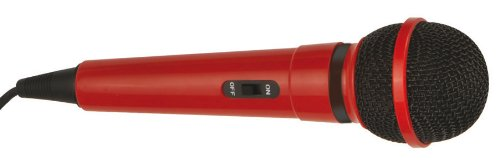 Red Karaoke-Mikrofon EV BPSMP35091-G156DR