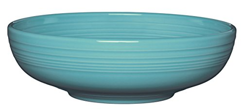 - Fiesta Bistro Serving Bowl, 96 oz, Turquoise