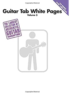 Amazon com: Acoustic Guitar Tab White Pages (9780634057120