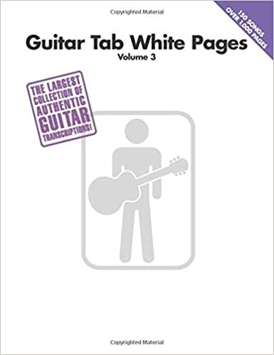 Guitar Tab White Pages Volume 3: Amazon.es: Hal Leonard Corp ...