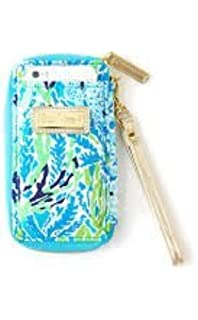 Lilly Pulitzer Womens Carded ID Smart Phone Wristlet