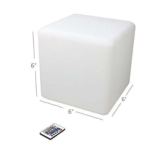 Large Led Light Cubes - 7