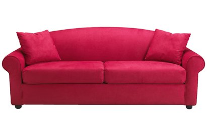 Amazon.com: Chicago Reina Sleeper sofá, Rojo: Kitchen & Dining