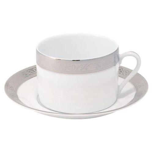 Philippe Deshoulieres Trianon Platinum Breakfast Saucer