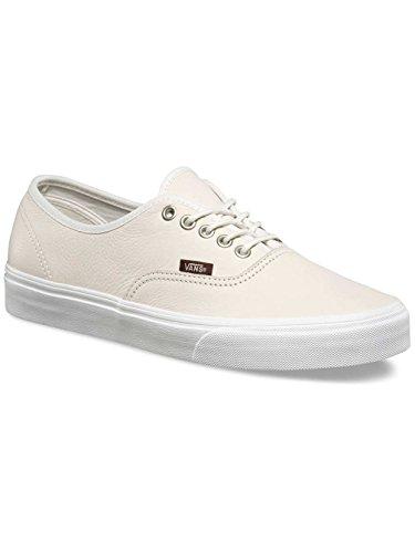 Vans Unisex-Erwachsene Authentic Low-Top (leather) blanc