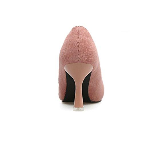 Vestir Desconocido Zapatos Rosa de Mujer Para de Piel Welldone2017 wfaq4ft