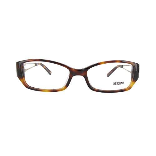 MOSCHINO Women's Eyeglasses 53 Havana ()