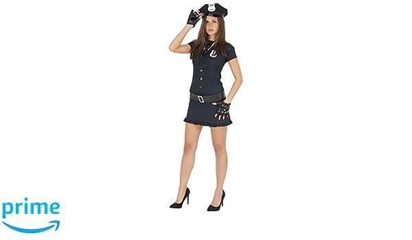 Foxxeo Sexy Disfraz de Mujer policía para Damas al Carnaval ...