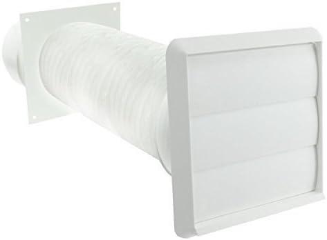 SPARES2GO exterior de pared Kit de ventilación para campanas de cocina Cooke & Lewis (4