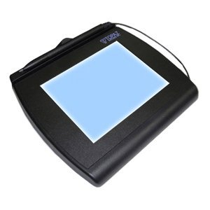 TOPAZ SYSTEMS InfoLogix SignatureGem T-LBK766 Signature Capture Pad<br>TOPAZ SIGNATUREGEM LCD 4X5IN BACKLIT INCLUDES SIGPLUS SW<br>Backlit LCD - Active PenUSB, Serial by Topaz