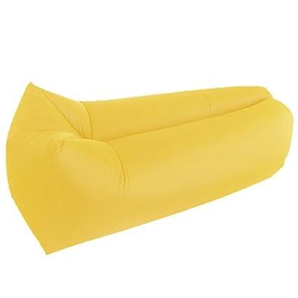 Inflable tumbona sofá camas de aire de compresión saco de dormir, camas, colchones de
