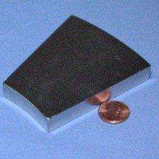 "Wedge OD 14"" X ID 8"" X 0.5"" N42 Neodymium NdFeB Rare Earth Magnets 1-Count"