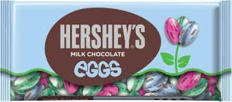 Hershey's Easter Milk Chocolate Eggs, 10 oz