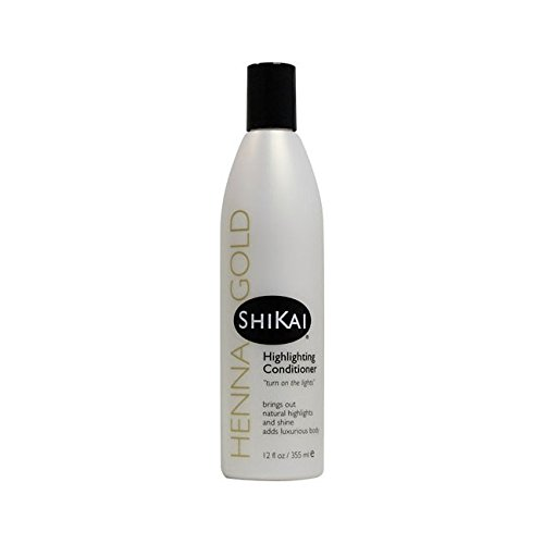 Shikai - Henna Gold Highlighting Conditioner, 12 fl oz (Shikai Henna Conditioner compare prices)