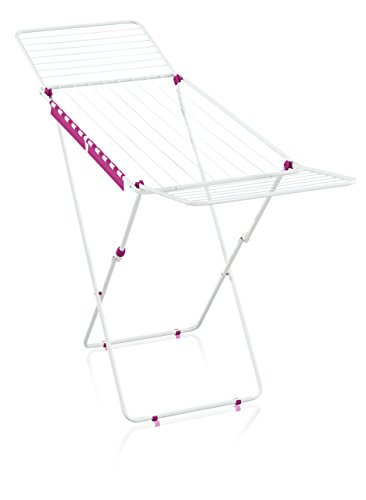 Leifheit 81547 Classic 200 Easy Standing Dryer in Sweet Pink