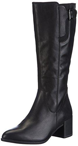 Tamaris 25524 - botas de caño alto de material sintético mujer negro - negro