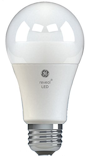 - GE Lighting 45656 Reveal Dimmable LED A19 Light Bulb with Medium Base, 11-Watt