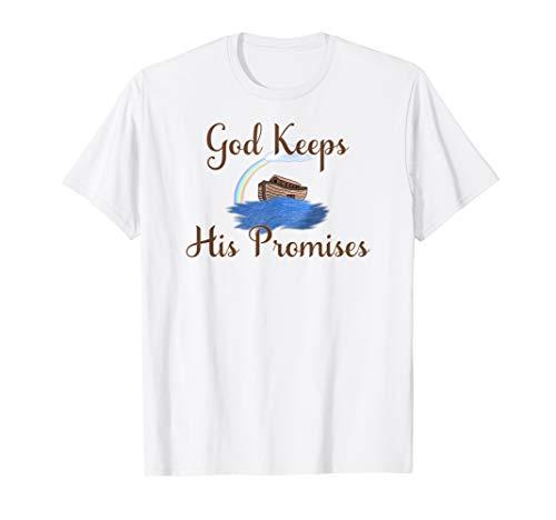 Noahs Ark T Shirt God Keeps His Promises Ark T Shirt -