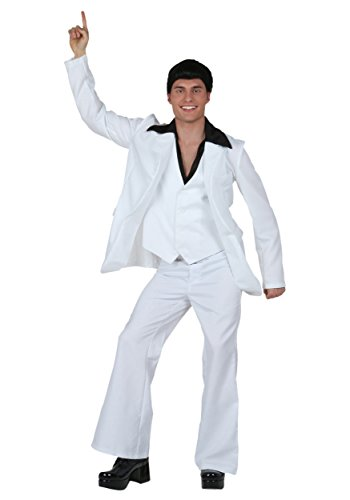 Fun Costumes Adult Deluxe Saturday Night Fever Medium