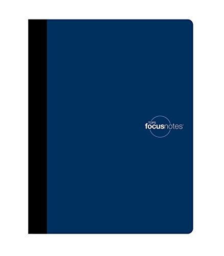 TOPS FocusNotes Note Taking System Composition Book, 9.75 x 7.5 Inches, White, 80 Sheets (90224)