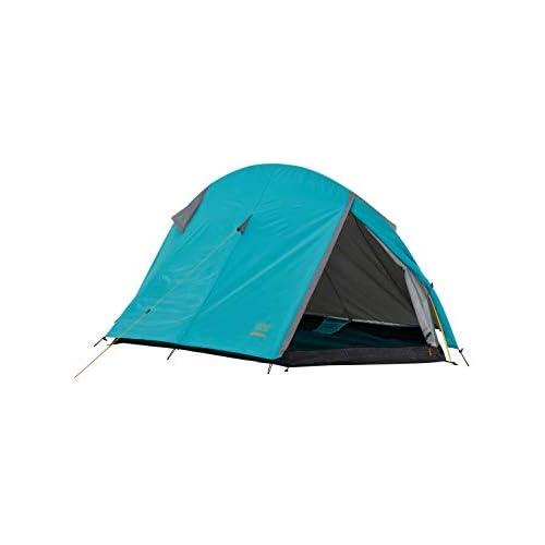 chollos oferta descuentos barato Grand Canyon CARDOVA 1 tienda de túnel para 1 2 personas ultraligera impermeable tamaño de paquete pequeño tienda para trekking camping outdoor Blue Grass azul