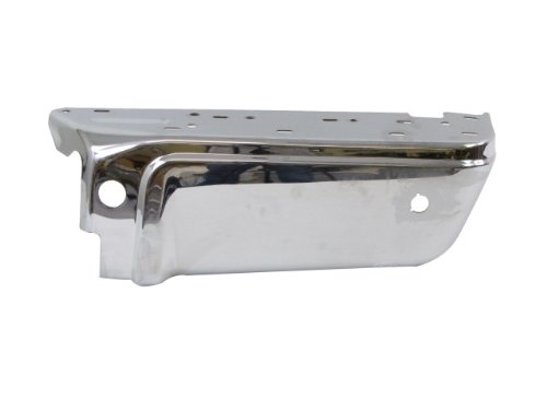2008-2015 Ford Super Duty Rear Bumper Outer Extension End Chrome (W/sensor Holes) Rh FO1105121