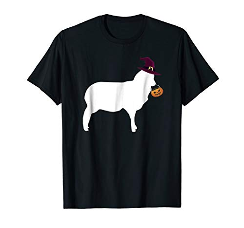 Funny Sheep Halloween Costume T-Shirt for Toddler -