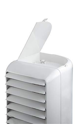 Crompton Mystique Turbo 50-Litre Tower Cooler (White)
