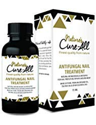 Nature's Cure-All Antifungal Nail Fungus Treatment Solution (15ml) | Maximum Strength with Undecylenic Acid | 100% Natural & Safe | Kills Nail Fungus & Infections, Nourish Nails & Reverse Damage (What's The Best Treatment For Toenail Fungus)