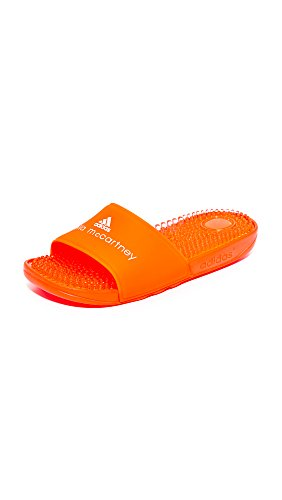 adidas by Stella McCartney Women's Recovery Slides, Core Red/FTWR White, 6 B(M) US