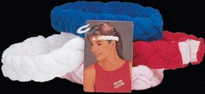 UPC 078914000591, Unique Braided Headband - White - 1 Per Pack